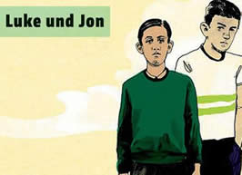 Cover: Robert Williams - Luke und Jon